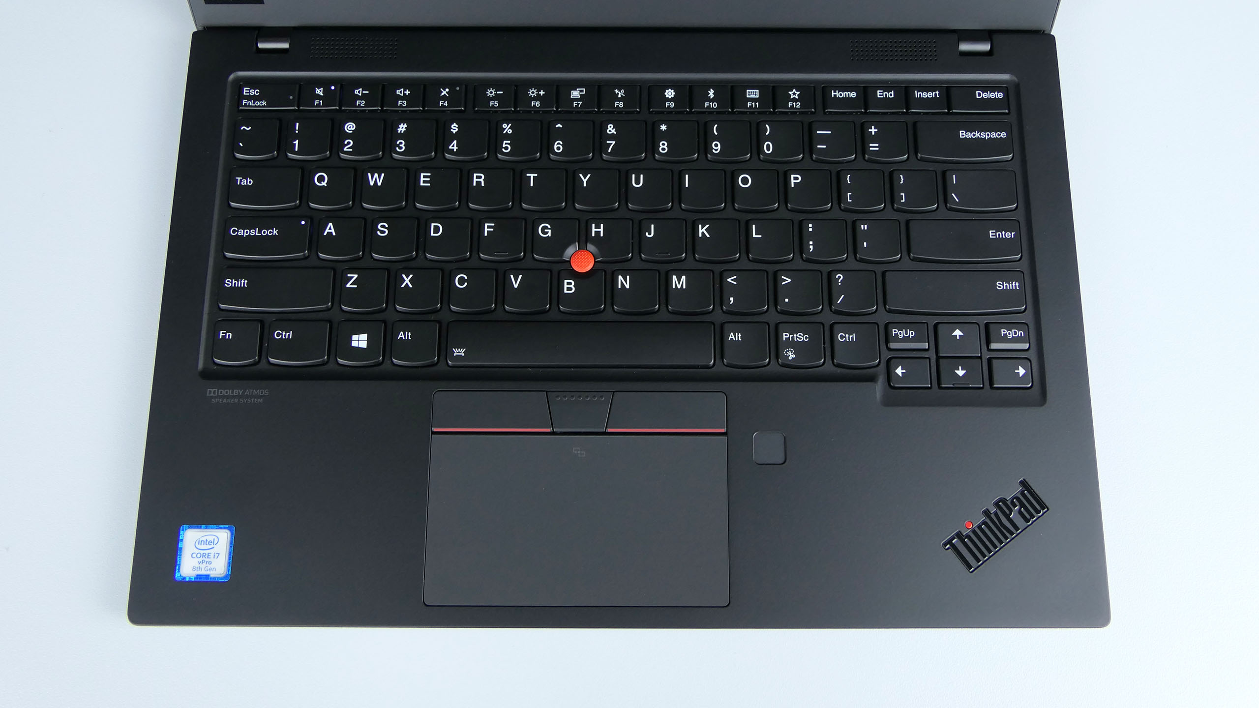 Lenovo ThinkPad X1 Carbon 7th gen - pulpit roboczy