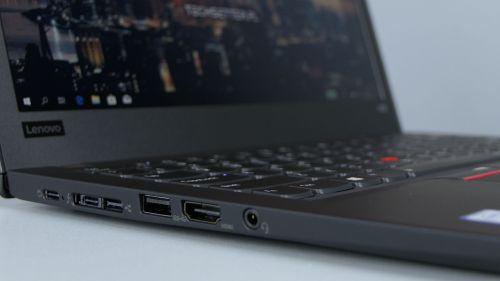 Lenovo ThinkPad X280 - USB 3.1 typu C/zasilanie, Thunderbolt3/dokowanie, USB 3.0, HDMI i port audio
