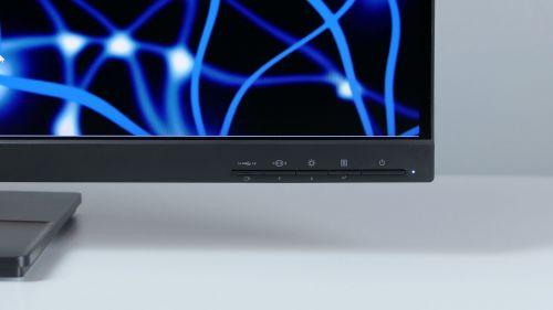 Lenovo ThinkVision P32p-20 - przyciski nadolnej ramce - klasyka
