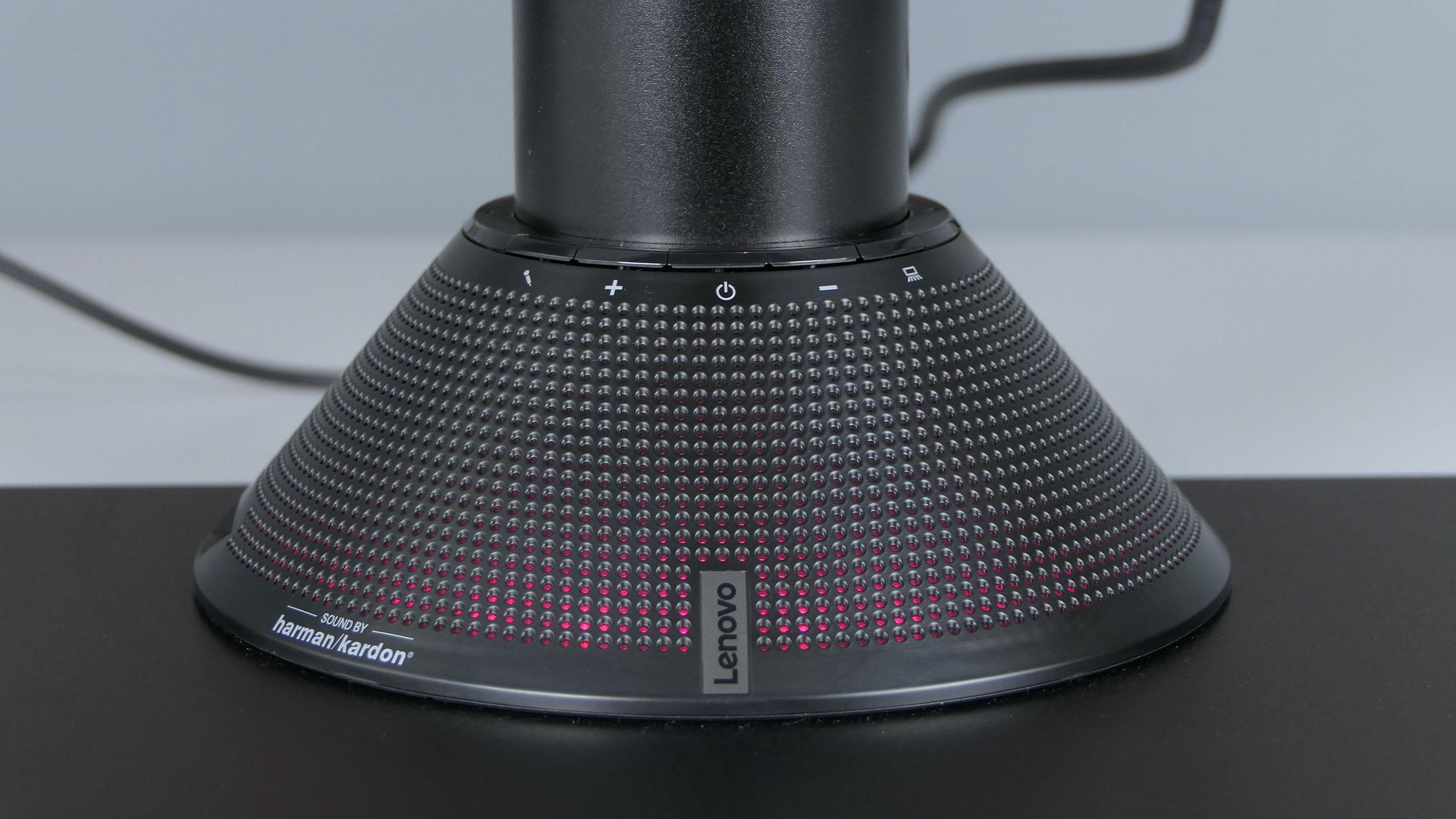Lenovo ThinkVision P44w - głośnik harman/kardon