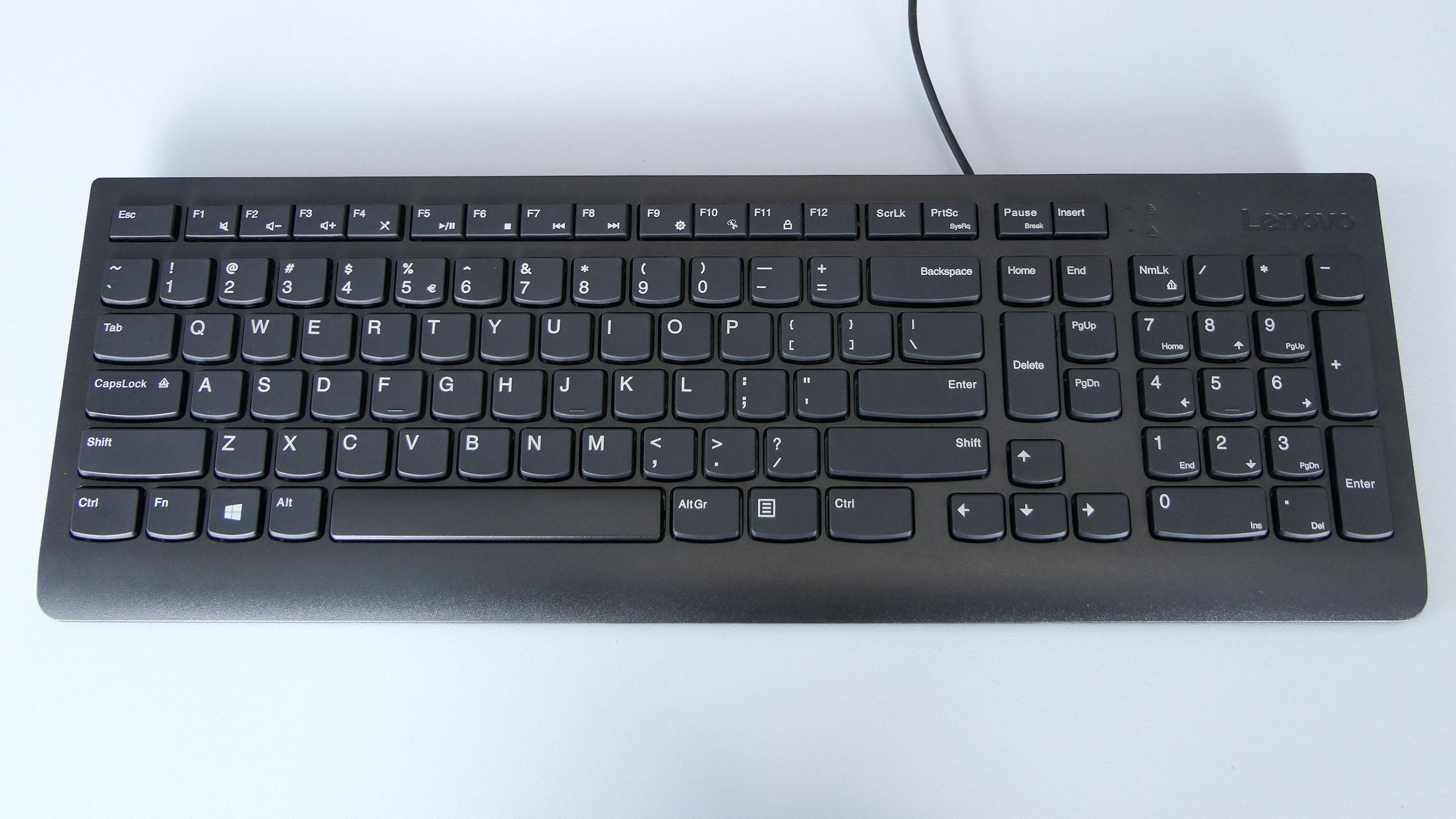 Dołączona do zestawu klawiatura