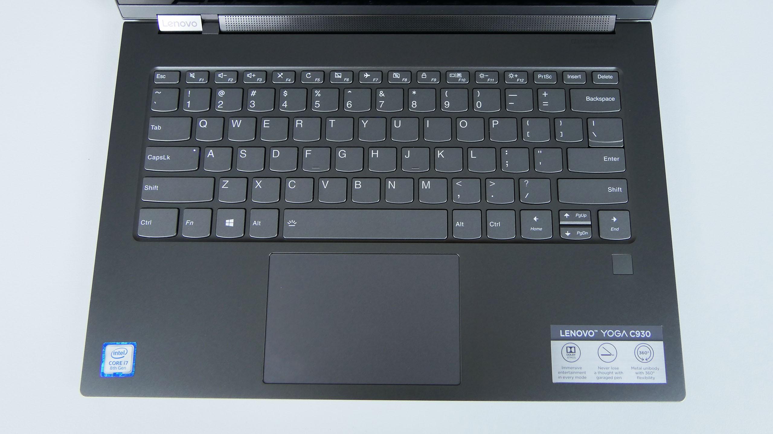 Lenovo Yoga C930 - pulpit roboczy