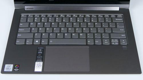 Lenovo Yoga C940 14 - klawiatura
