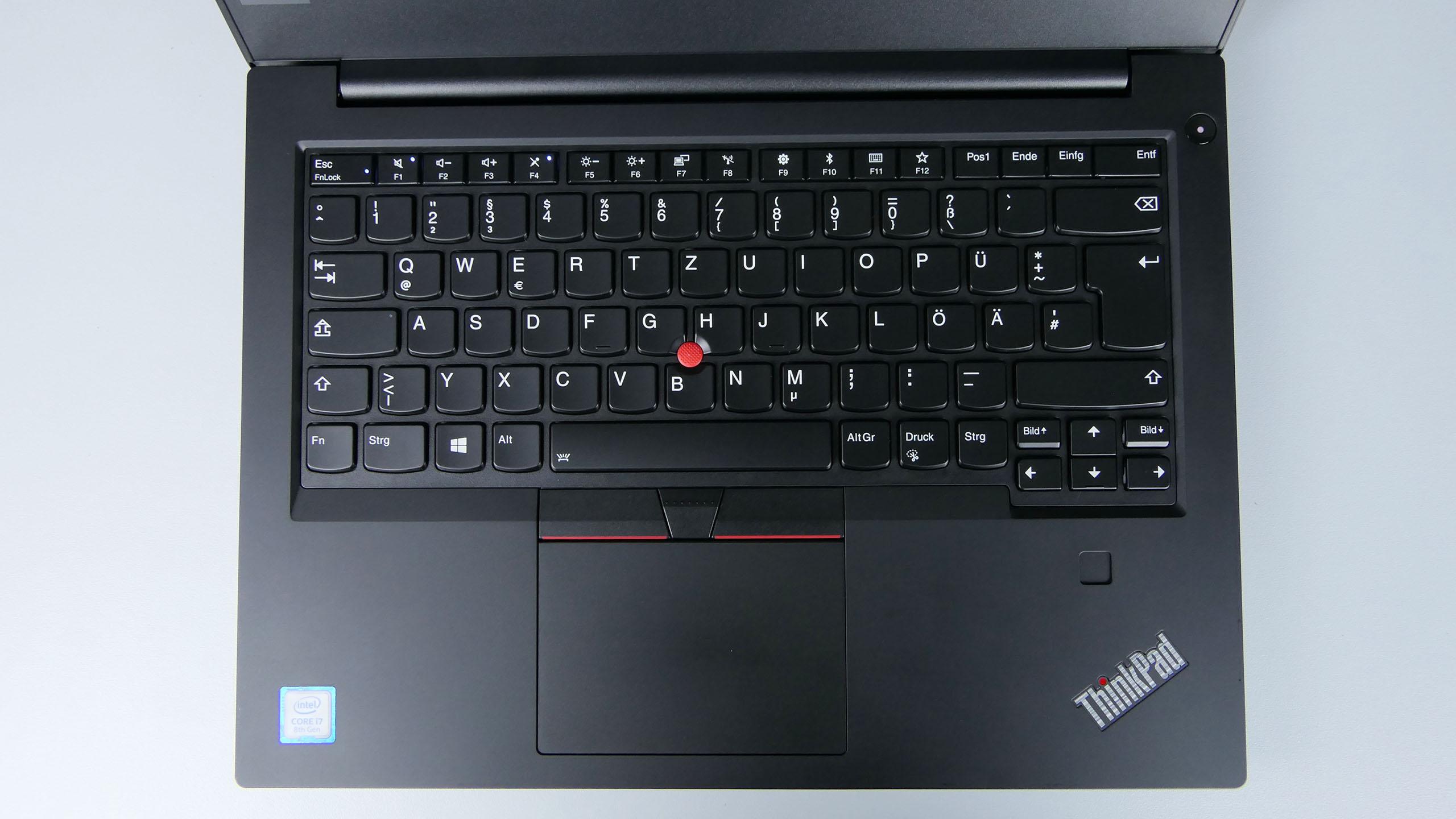 Lenovo ThinkPad E490 - pulpit roboczy