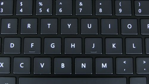 Microsoft Surface Laptop 4 (15) - klawiatura