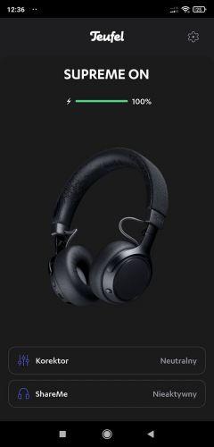 Aplikacja Teufel Headphones