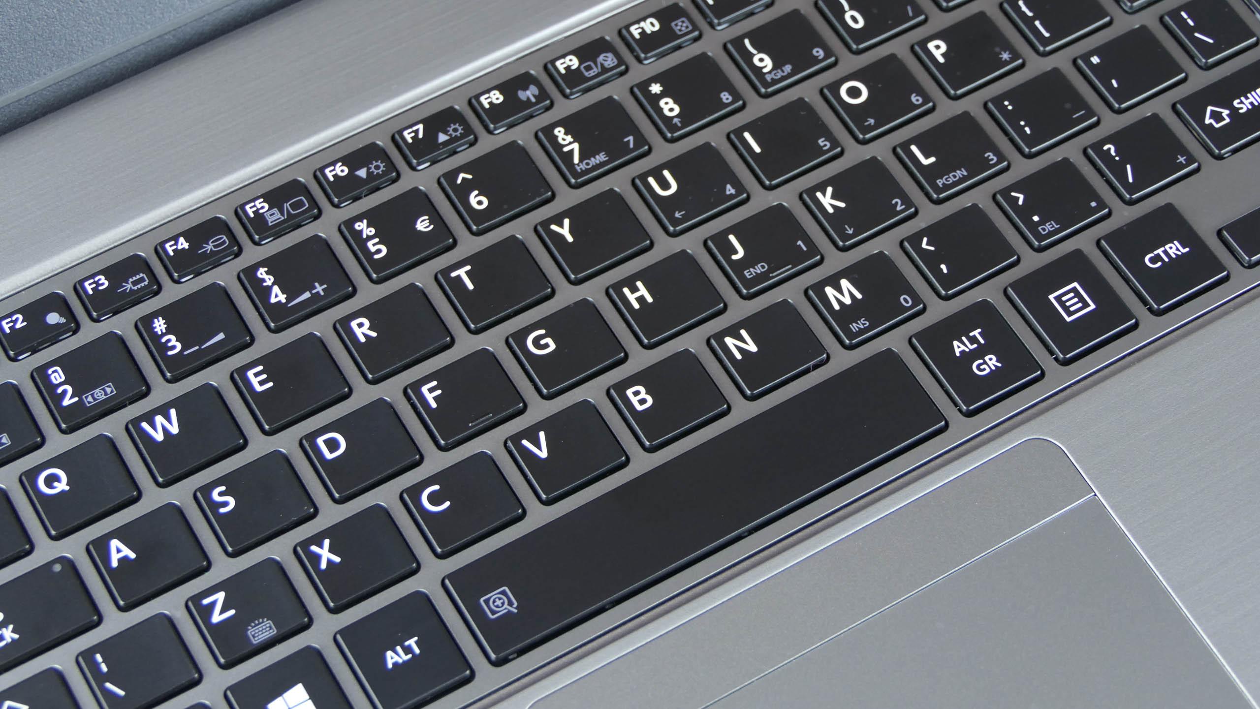 Toshiba Portege Z30-E - klawiatura