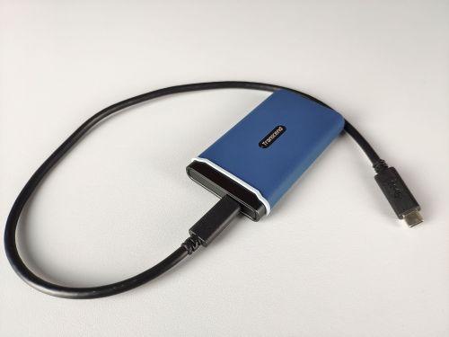 Transcend ESD370C zprzewodem USB-C/USB-C