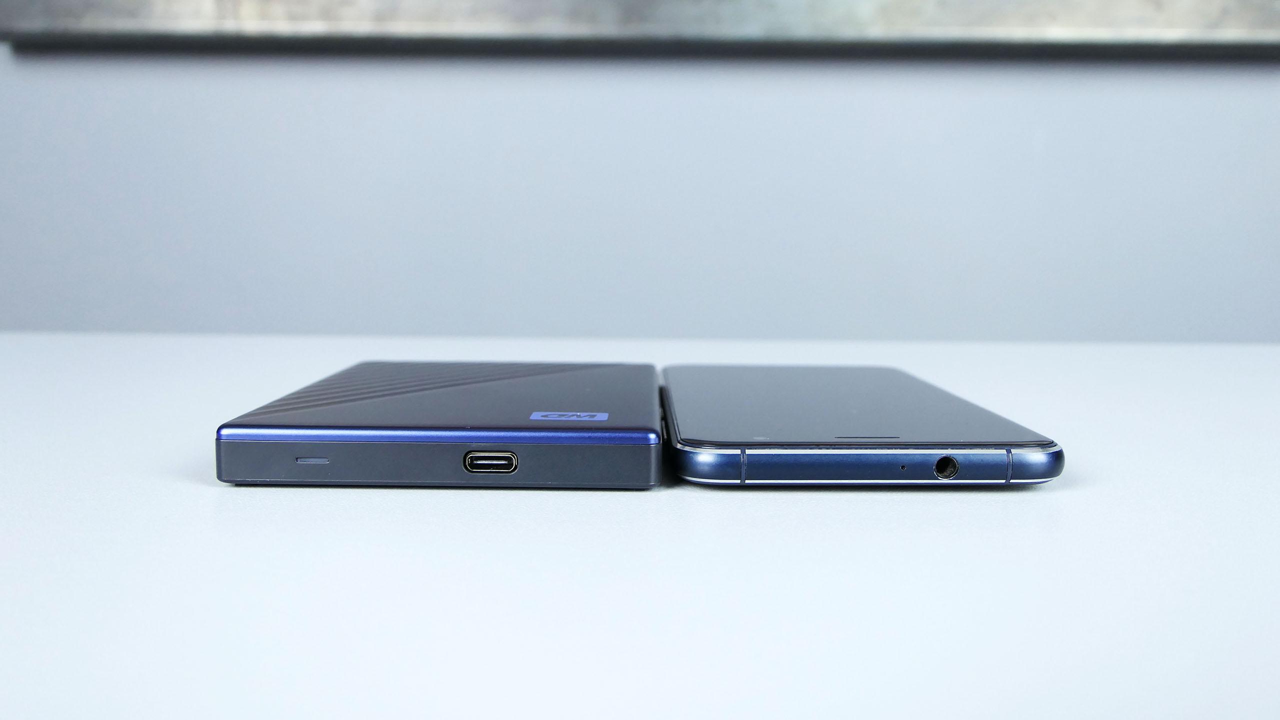 WD My Passport Ultra vs. Asus ZenFone 3
