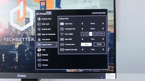 iiyama G-Master Red Eagle GB2470HSU-B1 - funkcje mające dodatkowo poprawić jakość wyświetlanego obrazu
