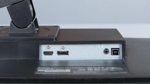 iiyama G-Master Red Eagle GB2470HSU-B1 - HDMI, DisplayPort, wyjście dla słuchawek/głośników, USB typu B (upstream)