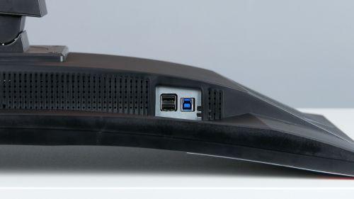 iiyama G-Master Red Eagle GB3266QSU - 2x USB 2.0, USB typu B